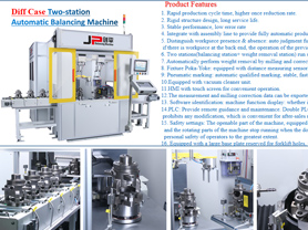 Diff Case Automatic Balancing Machine