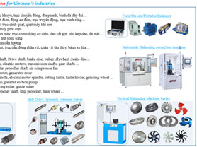 Dynamic Balancing Machine for Vietnam Industries